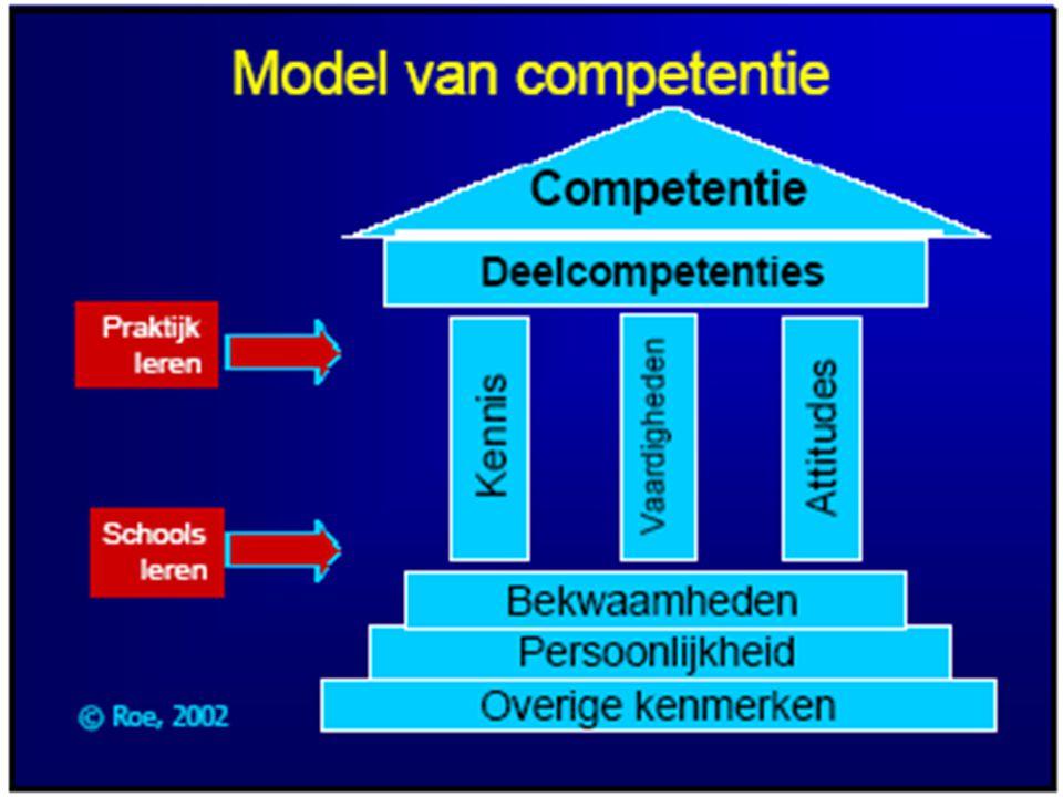 Conceptueel model Roe (2002)[1] [1] Roe, R. A. (2002)